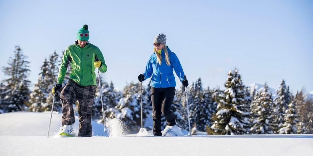 Schneeschuhwandern Meransen :: Winterwandern Meransen